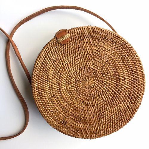 Medium Bali Rattan Bag