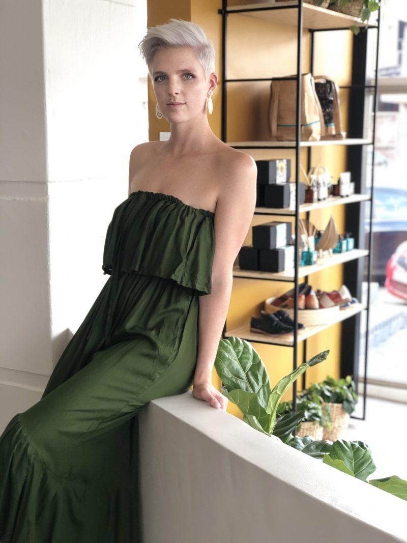 Wayan Dress – Green