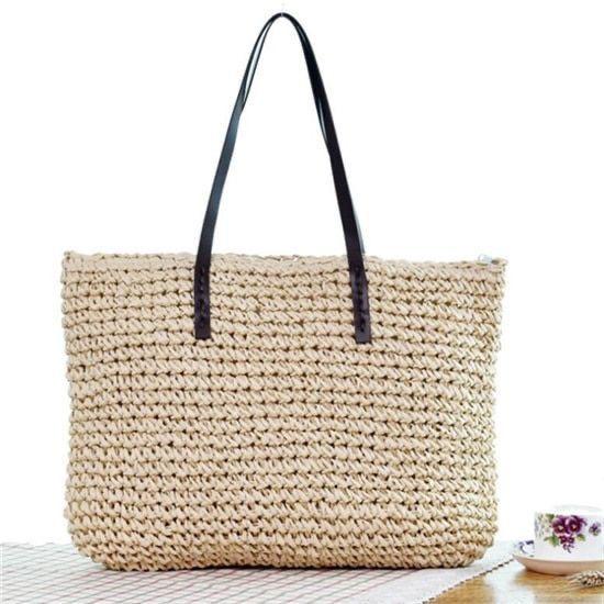 Woven Handbag – Natural