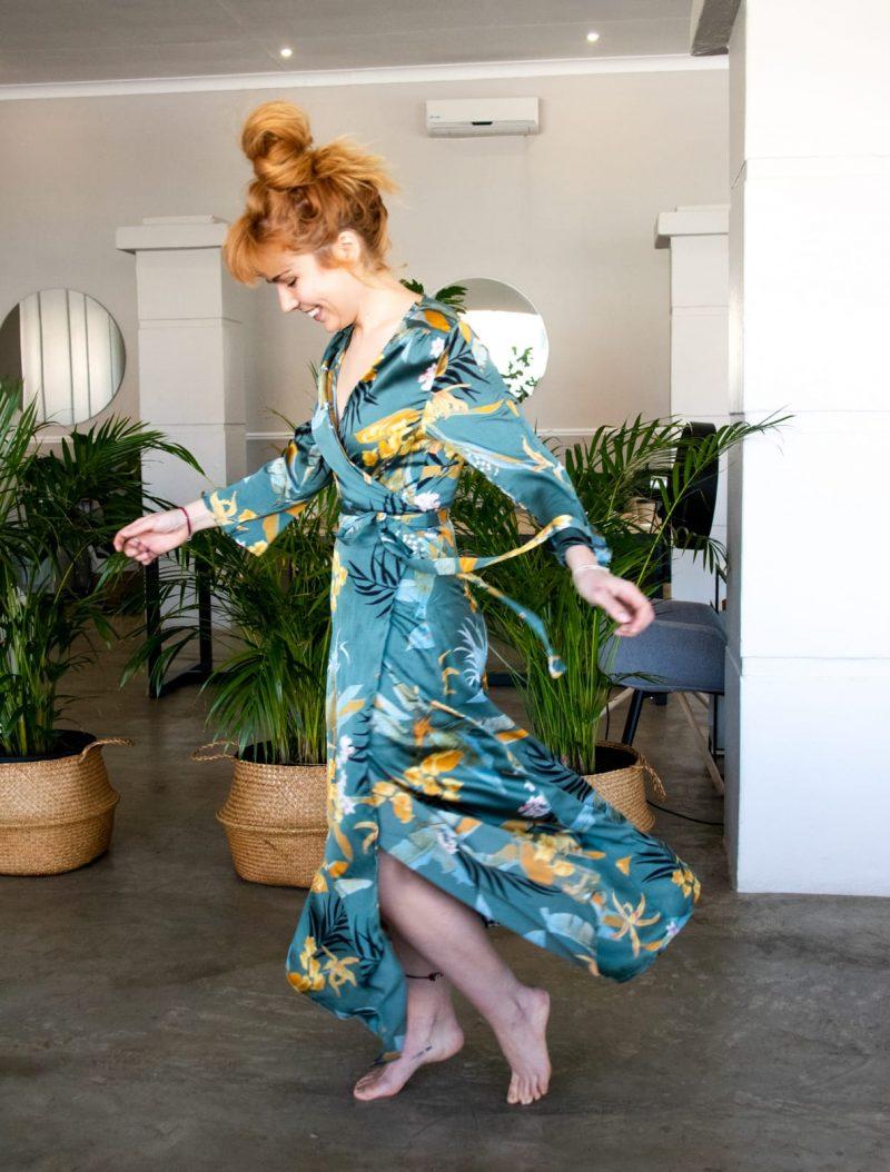 Lumen Dress- Green