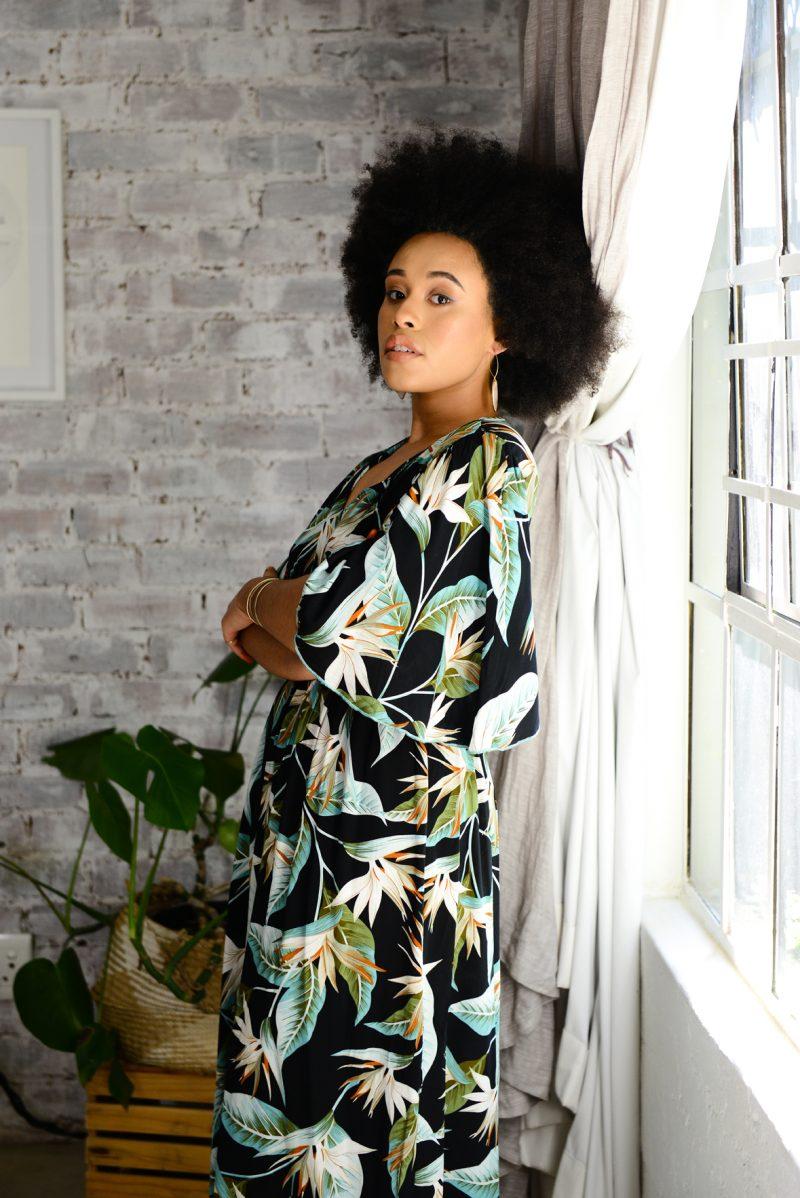 Empire Dress- Strelitcia Black