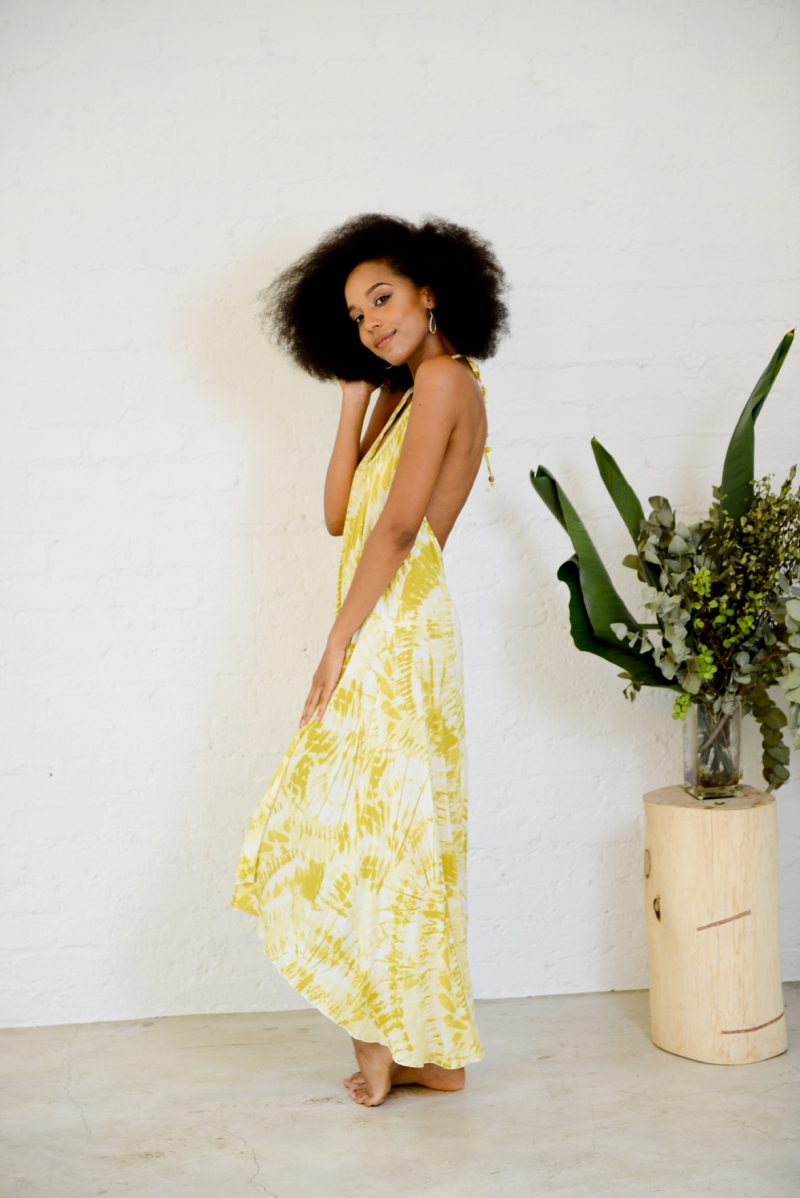 Monro Dress – Yellow
