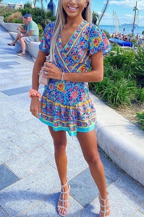 Tyla Dress – Blue